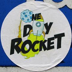 ONE DIY ROCKET (Leo Reynolds) Tags: canon is sticker powershot f45 squaredcircle iso80 0008sec sx210 hpexif xleol30x sqset100 xxx2013xxx