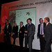 Los premiados durante la 6ª Edición de los premios del recreativo