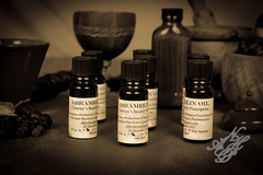 Abramelin Oil Crowleys Beastly Prescription (105) (neumanphyrdorosegrea) Tags: angel magick magic von abraham holy essential oil ritual worms rite incense guardian crowley aleister abramelin