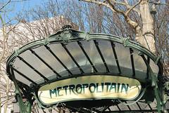 Paris - Montmartre (Nailton Barbosa) Tags: paris france art de europa metro frana montmartre francia metr estao noveau