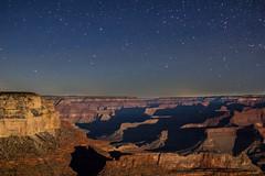 (nicolekudla) Tags: arizona sky black color colour nature contrast dark stars photography exposure grand canyon nighttime environment capture incredible