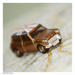 Mini (peterphotographic) Tags: uk england macro london car closeup austin square toy nikon britain map flag sigma az mini cooper e17 unionjack toycar matchbox walthamstow eastlondon sigma70210f28 macromondays d300s camerabag2 dsc0766cb21959sqedwm