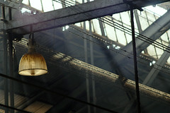 The rafters at Chhatrapati Shivaji Terminus