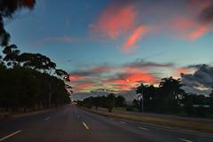 104_6405 (J Rutkiewicz) Tags: sunset clouds droga chmury zachdsoca