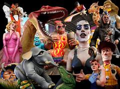 Mardi Gras World collage...IMG_1591 (dklaughman) Tags: collage neworleans nola mardigrasworld