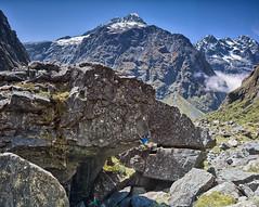 The Dark Arena (gomezthecosmonaut) Tags: climbing derek rockclimbing darrans routeclimbing darkarena rhinocam distagont450 sonynex7