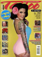Zeitschrift Tattoo ENERGY #2012077 (Gute Zeitschrift - Dein Magazin) Tags: tattoo kunst tribal maori magazin herz zeitschrift ttowieren krperkult