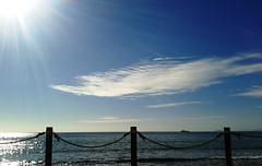(Pacurrio) Tags: ocean sea sky rescue costa coast boat mar mediterranean mediterraneo barco horizon navy vessel armada palm paseo shore cielo malecon boardwalk neptuno neptune cartagena palmera marino horizonte buque orilla marítimo rescate azohia