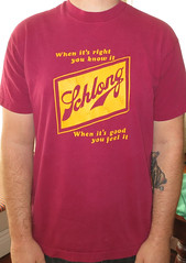 #937A Schlong - When Its Right You Know It (Minor Thread) Tags: shirt bay punk tour east merch minorthread schlong lookoutrecords eastbaypunk tshirtwars whenitsrightyouknowit bunlengthetc whenitsgoodyoufeelit