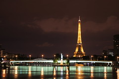 view from the River Seine