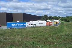 All Continents moving van trucks Ottawa, Ontario Canada 08262007 Ian A. McCord (ocrr4204) Tags: ontario canada ottawa casio pointandshoot trailer mccord remorque ianmccord ianamccord
