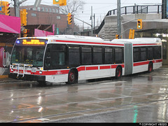 Toronto Transit Commission #9027 (vb5215's Transportation Gallery) Tags: toronto bus nova ttc transit commission artic lfs 2014