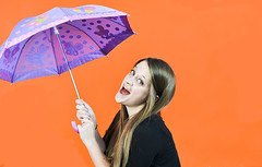 Playing With The Props (raisinsawdust - (aka: tennphoto)) Tags: woman umbrella portraits fun happy corporate nikon tennessee session props 2014 d600 nikond600