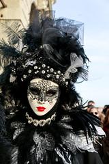Masked Lady @ Venice Carnivale 2016 | Italy