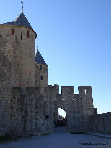 8. Cité Médiévale de Carcassonne, -Rempart gallo-romain nord