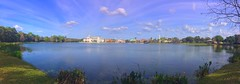 Beautiful Day For A Stroll (Thanks for over 2 million views!!) Tags: celebrationlakesidepark chadsparkesphotography lake celebration kissimmeflorida kissimmee florida clouds sky water iphonese iphone iphonecamera panoramic pano panoramo trees