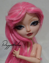 Pink Lady (Puppet Tales Dolls) Tags: ooak ooakdoll custom customization everafterhigh ever after high pinkhair repaint dollrepaint