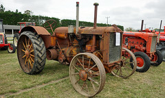 1921 Allis Chalmers Model E Tractor. (Branxholm) Tags: plough plow harvest farm ranch cattle sheep horse wheat corn oats crawler bulldozer farmall case moline oliver john deere