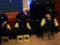 Stick To The Shadows (LegoFan117) Tags: lego brickarms sidan military tactical minifigure bricks army special forces