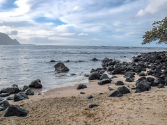 Kauai: The beach at St. Regis (Sujal Parikh) Tags: december 2016 kauai beach regis hanalei