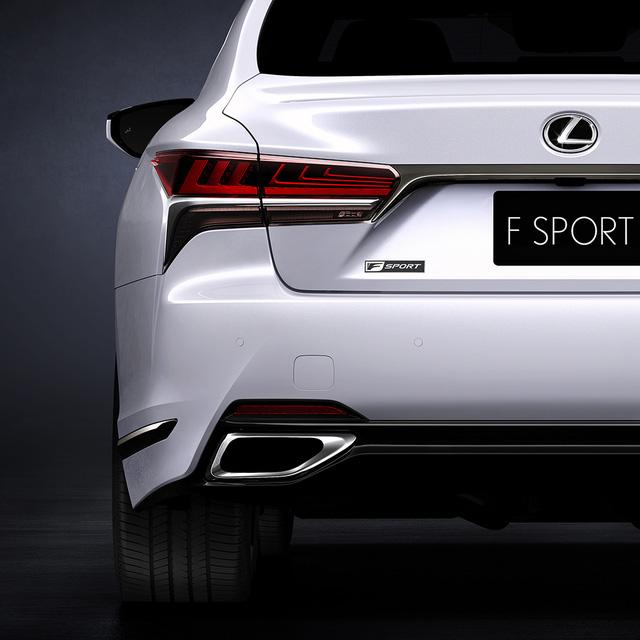 Hé lộ hình ảnh của sedan thể thao Lexus LS500 F Sport 2018 - Ảnh 1.
