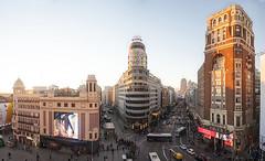 Gran Via de Madrid (IGOR MUÑOZ) Tags: gran via de madrid carrion plaza callao españa