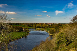 River Tweed and Border Chain Link Bridge
