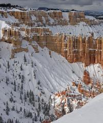 The Windows (CloudRipR) Tags: brycecanyonnationalpark rock red snow nikon d810