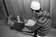 Homeless faith (DanLeeGreen) Tags: street kl malaysia candid bw monochrome kualalumpur kuala trix 800 50mm ae1 canon film analogue people homeless poor poverty push d76 danleegreen mono arte black white blackandwhite
