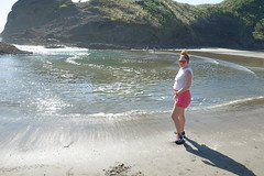 Piha Beach (zwergenprinzessin) Tags: 2017 2017february travel newzealand nz dsinnz roadtrip northisland piha pihabeach aucklandregion tasmansea