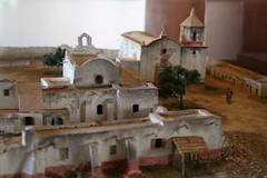 Mission Diorama (Piedmont Fossil) Tags: goliad state park texas mission espiritu santo diorama