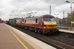 90020 & 90028 (4M25). (Andy's Railway Photography) Tags: 90020 collingwood 90028 4m25 wigannorthwestern