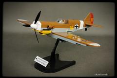 COBI Messerschmitt Bf 109 F-4 Trop (Kobikowski) Tags: cobi lego messerschmitt bf 109 trop model 132 toy zabawka samolot aircraft marseille ace luftwaffe