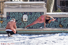 Yoga in the Park (ViewFromTheStreet) Tags: allrightsreserved blick blickcalle blickcallevfts bluemosiactile calle citypark copyright2017 park pennsylvania philadelphia photography rittenhouse rittenhousesquare square stphotographia streetphotography viewfromthestreet amazing animals beautiful beauty blue camera candid childrensfountain classic cute exercise female fountain gilded girl midriff mosiac photographer pretty street tile vftsviewfromthestreet wall woman yoga yogapants ©blickcallevfts ©copyright2017blickcalle