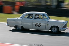 HRDC Touring Greats - Ford Zephyr ({House} Photography) Tags: brands hatch uk kent fawkham indy circuit car automotive panning canon 70d 70200 f4 housephotography timothyhouse racing motorsport hrdc touring greats old classic cars ford zephyr