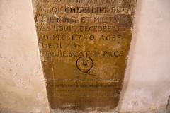 Gravestone - Grabstein (Jojorei) Tags: skull bones totenkopf knochen grabstein gravestone 1780 louis stein stone kunst art