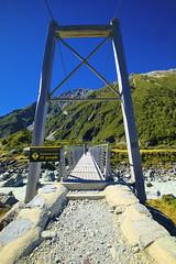 The Swing bridge (T Ξ Ξ J Ξ) Tags: newzealand aoraki mountcook fujifilm xt1 teeje fujinon1024mmf4 day swingbridge hooker valley track