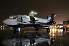 N727US USA JET 727-223F at KCLE (GeorgeM757) Tags: n727us usajet 727223 n715aa cargo aircraft aviation airport airfreight boeing georgem757 kcle clevelandhopkins nightairplane