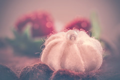 Felt meringue (Ro Cafe) Tags: clothtextile macro stilllife felt handmade craft nikkormicro105f28 nikond600 soft pastels