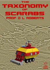 The Taxonomy of Scarabs (David Roberts 01341) Tags: lego ldd povray photoshop space scifi bookcover micro scale