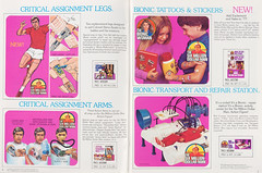 1978 Kenner Six Million Dollar Man toys (Tom Simpson) Tags: kenner toy toys vintage vintagetoys 1970s 1978 bionicman sixmilliondollarman