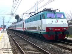 E444.006 IC Sun 670 (NickETR470) Tags: e444 tartaruga intercity icsun ic stazione trenitalia fs ferrovie dello stato storia genova roma tirrenica ferrovia railway railways country italy italia
