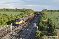 E38 (Yardbrush) Tags: 6e38 tanks colas colasrailfreight colasrail cossington 60 tug class60 60021 freight sun transport leicestershire
