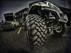 Watch Your Toes (Steve Walser) Tags: carshows cars classiccars granitefalls hotrods jeep 4x4