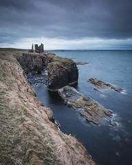 Castle Sinclair Girnigoe, Scotland [Explored] (Sunny Herzinger) Tags: scotland castle fujixpro2 xf14mmf28 unitedkingdom gb