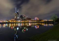 Nashville Skyline (ir guy) Tags: nashville tn tennessee skyline river cumberland night 2017 wwwnashvilleskylinescom jeremyholmes photo fineart photography