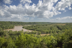 Gasconade Flood Bluff View 2017 (Thomas  Johnson Photography) Tags: missouri outside outdoors canon 5d 5dmarkiv markiv scenic historic flood flooding gasconade river gasconaderiver flood2017 beautifulsky blue sky muddy spring 2017 rushing bluff bluffview thomasjohnsonphotography ©thomasjohnsonphotography ©2017thomasjohnsonphotography amazing mothernature nature rain raining rains rainy unitedstates