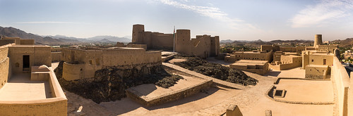 Bahla Fort Panorama View