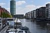 2017 Marina Westhafen in Frankfurt (mercatormovens) Tags: frankfurt city stadt marina westhafen main fluss wasser boote westhafentower architektur gebäude