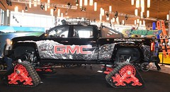 GMC Sierra All Terrain HD (D70) Tags: 2017 vancouver international auto show gmc sierra terrain hd equipped with mattracks 175m1a1sa whistler blackcomb snow board skis all pickup truck version chevrolet silverado medium heavyduty